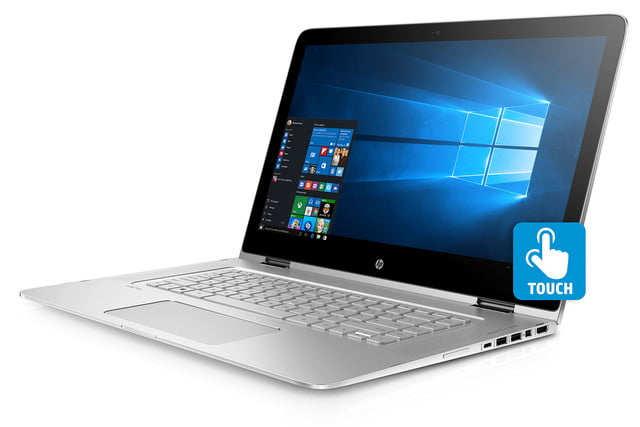 hp focuses on virtual reality and 2 in 1s at ces 2016 spectre x360 15 left facing