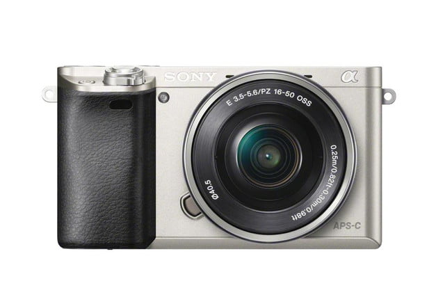 sony unveils alpha a6000 mirrorless camera ilce 6000 wselp1650 front silver 1200