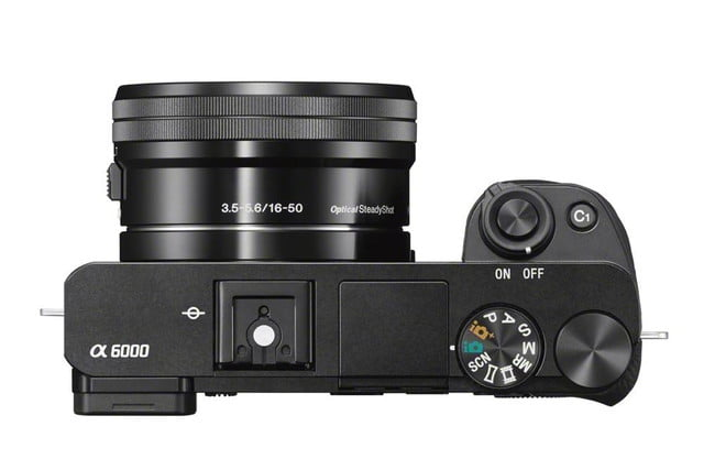 sony unveils alpha a6000 mirrorless camera ilce 6000 wselp1650 top black 1200