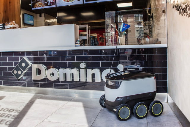 robots will finally make themselves useful by delivering domino 39 s pizza digital trends. Black Bedroom Furniture Sets. Home Design Ideas