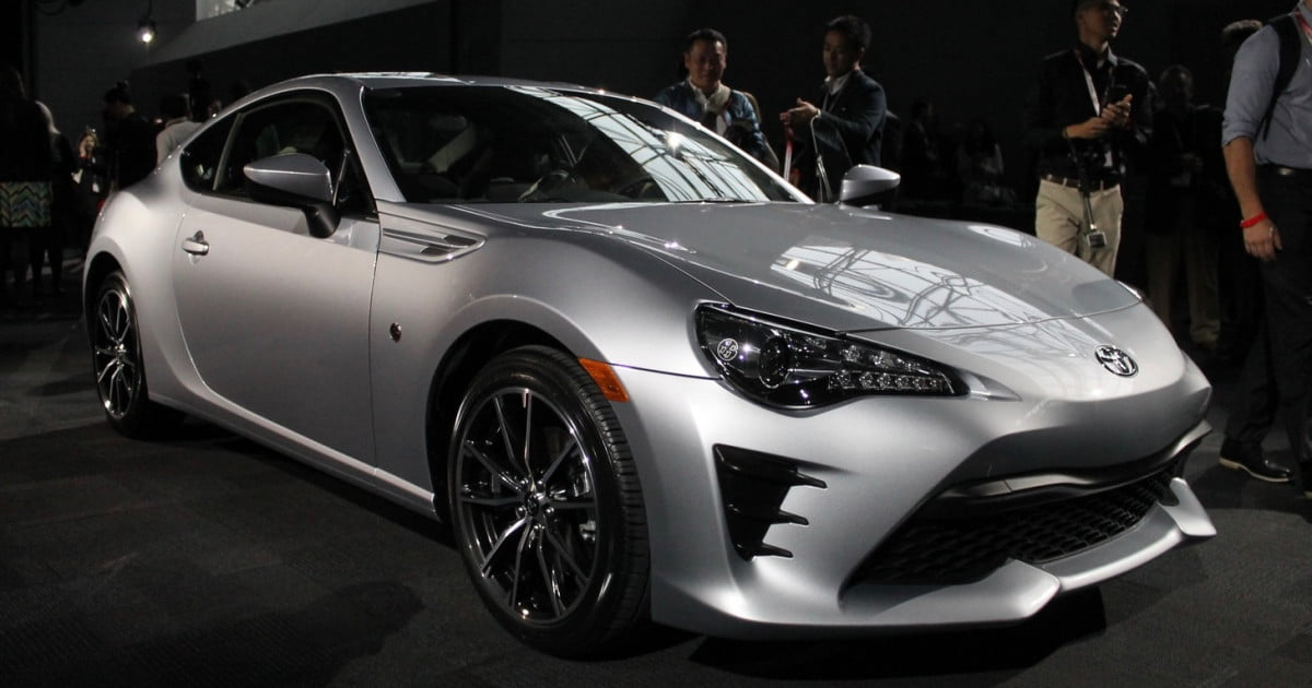 The Scion Fr S Has Been Renamed Toyota 86 And It Gains Five Extra Horse In Process