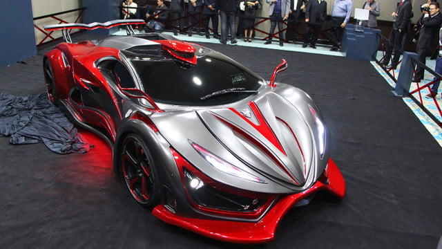 inferno exotic car 1400 horsepower metal foam pictures 005