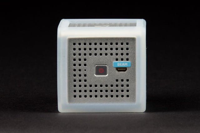 Innoio Cube Pico Projector power button side