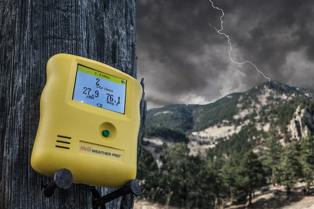 Ino Technologies Weather Pro lightning detector review