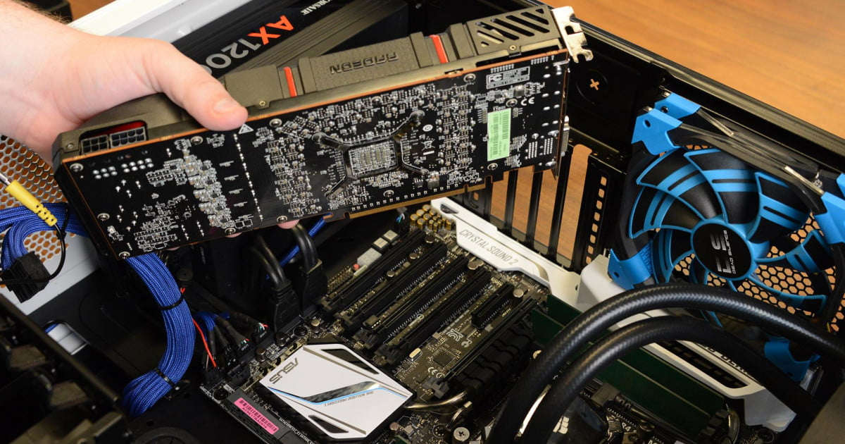 How To Install A Pc Graphics Card In Five Minutes