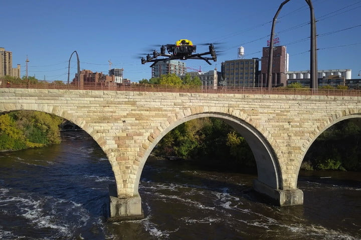 Intel wants its fleet of drones to monitor America's aging, unsafe bridges