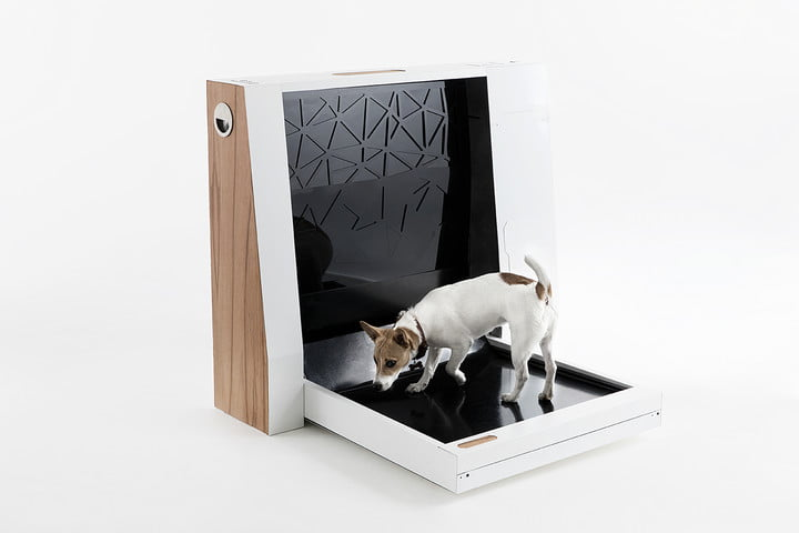 Inubox is an automated dog toilet that aims to get some tails wagging
