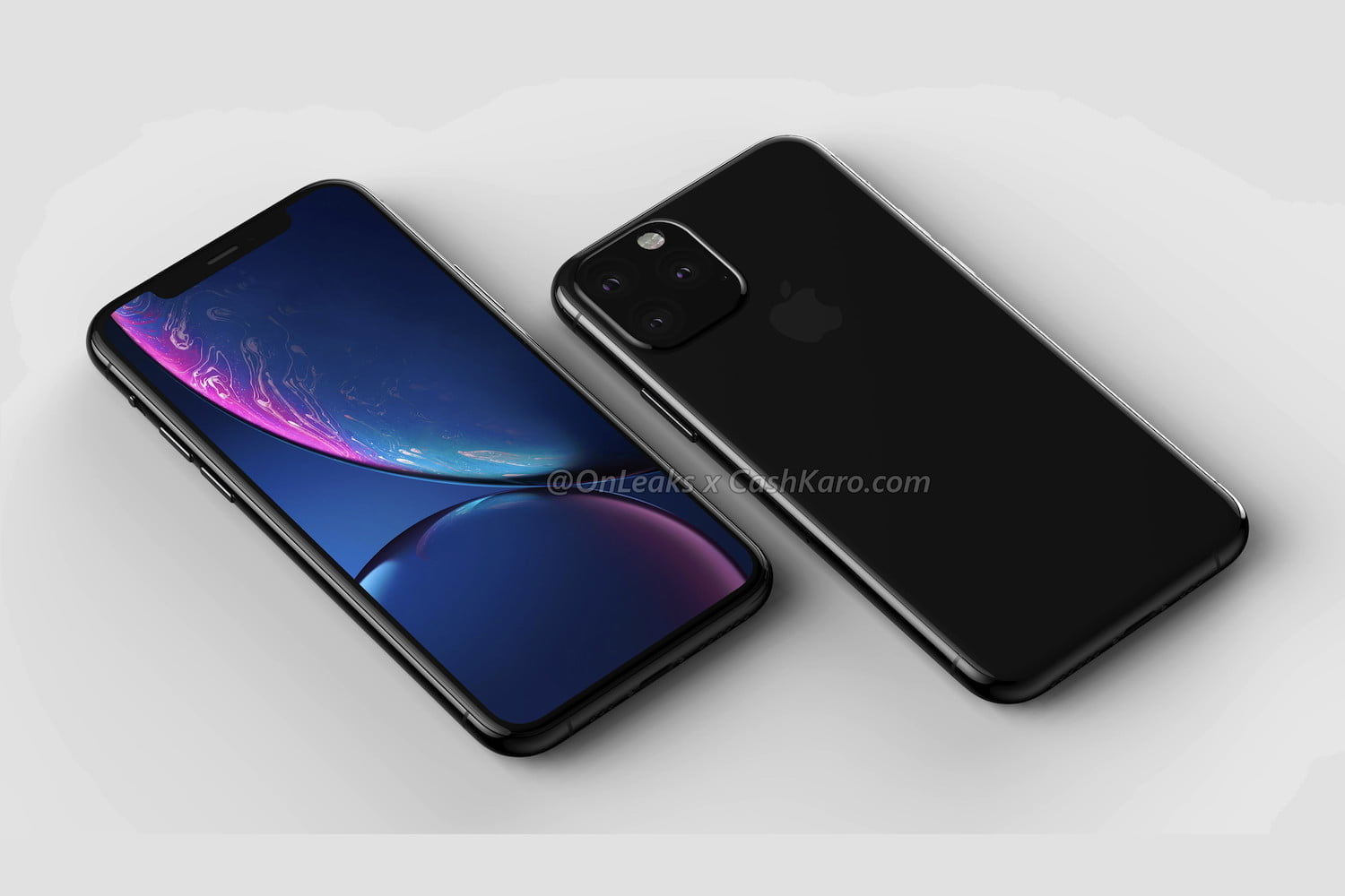 9a1f3edaf7c7ae The front of the iPhone shows the screen retains the same wide notch  introduced on the iPhone X.