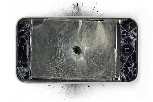 7 phones that stopped bullets iphone bullet
