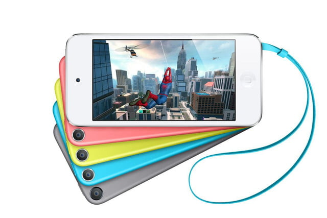 iPod Touch 5-megapixel camera