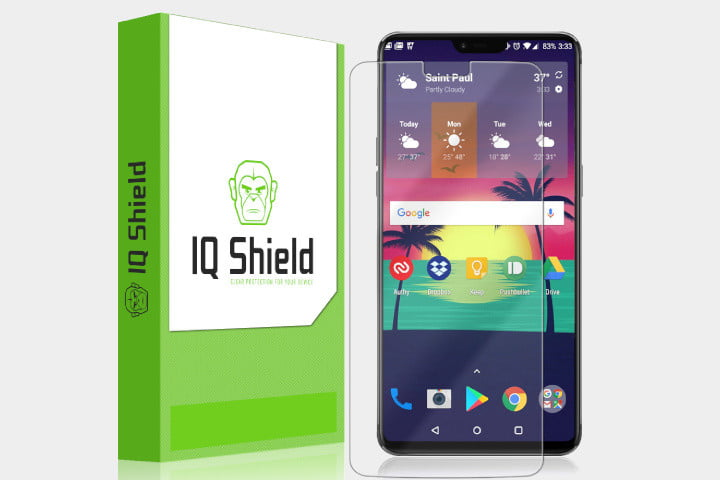 best oneplus 6 screen protectors iq shield