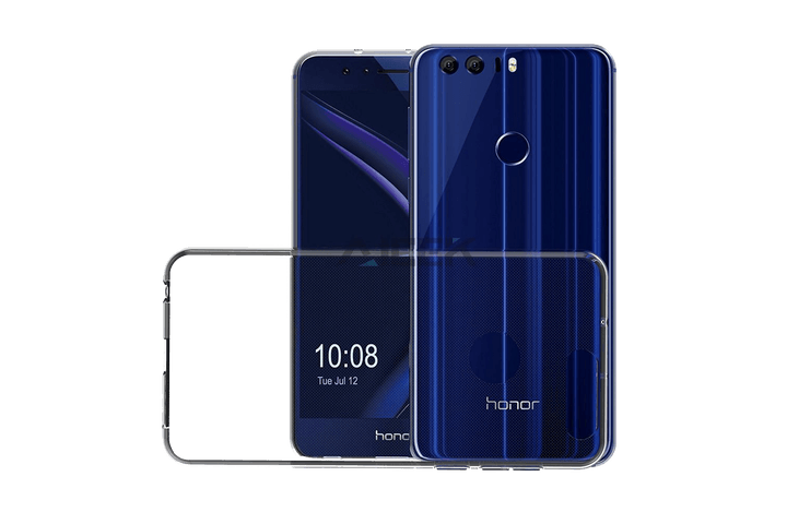 ivoler crystal clear back cover - best Honor 8 cases