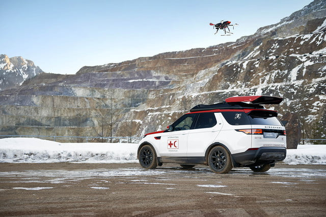 Watch Land Rover S Search And Rescue Suv Launch Infrared Equipped
