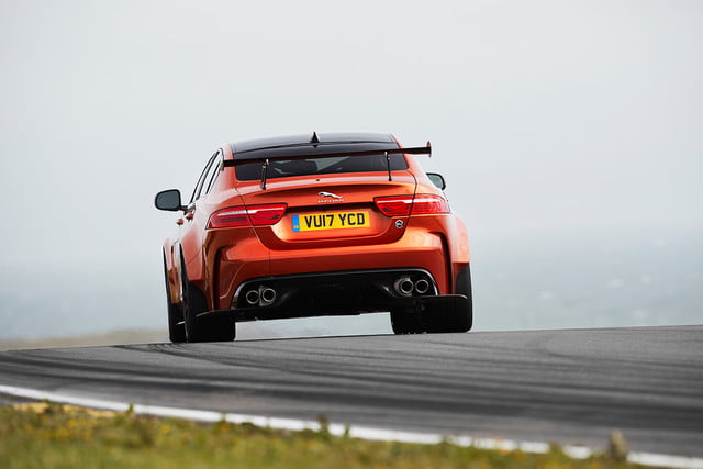 Jaguar-XE-SV-Project 8 rear