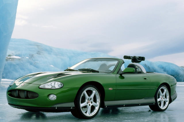 all time wackiest james bond cars jaguar xkr  die another day 2002