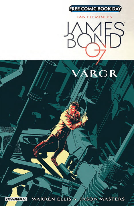 free comic book day 2018 comics james bond vargr