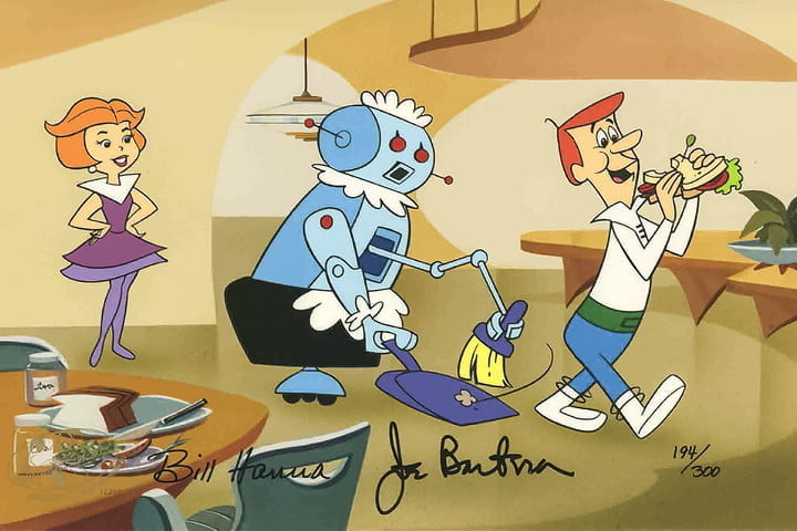 The Jetsons Technology Robot Assistants