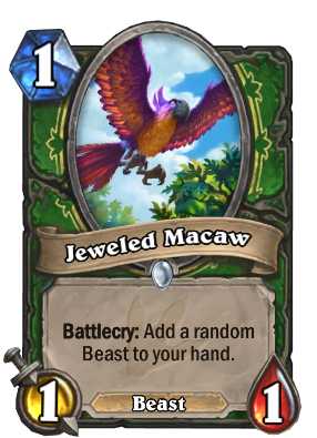 hearthstone decks ungoro jeweled macaw 55528