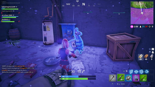 Fortnite Search Jigsaw Puzzle Pieces In Basements Challenge Guide