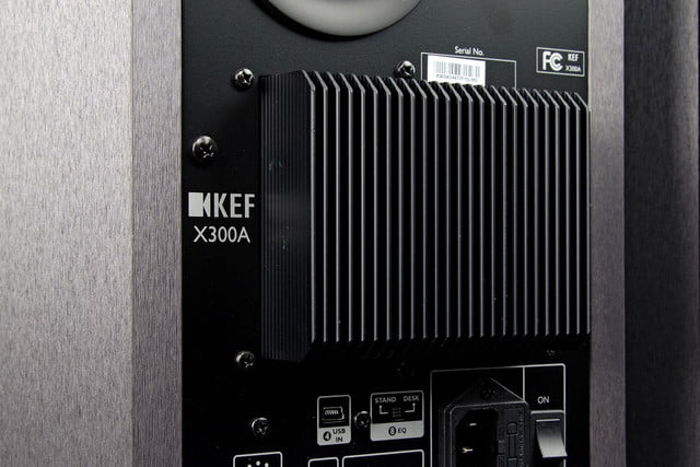 KEF X300 A review back macro angle