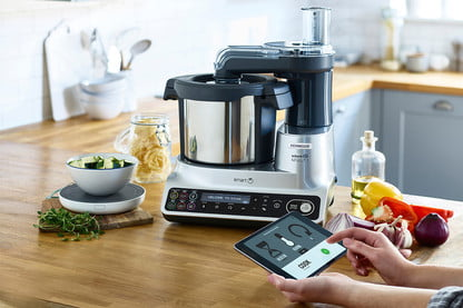 The Kenwood Kcook Is A Smart Multicooker With A Drop Scale