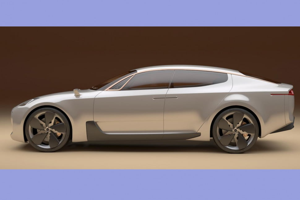 Kia GT concept  Headed into production for 2016  Digital Trends