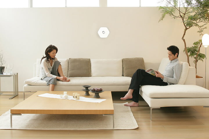 Kirio Smart Homes lifestyle shot of couple in their living room
