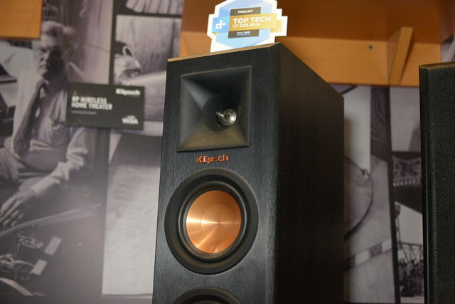 klipsch shows reference premiere wireless home theater system 6793
