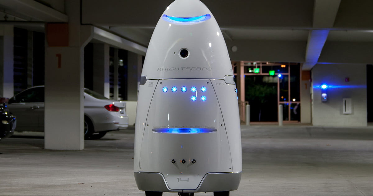 Knightscope S Security Robots What They Are And How They