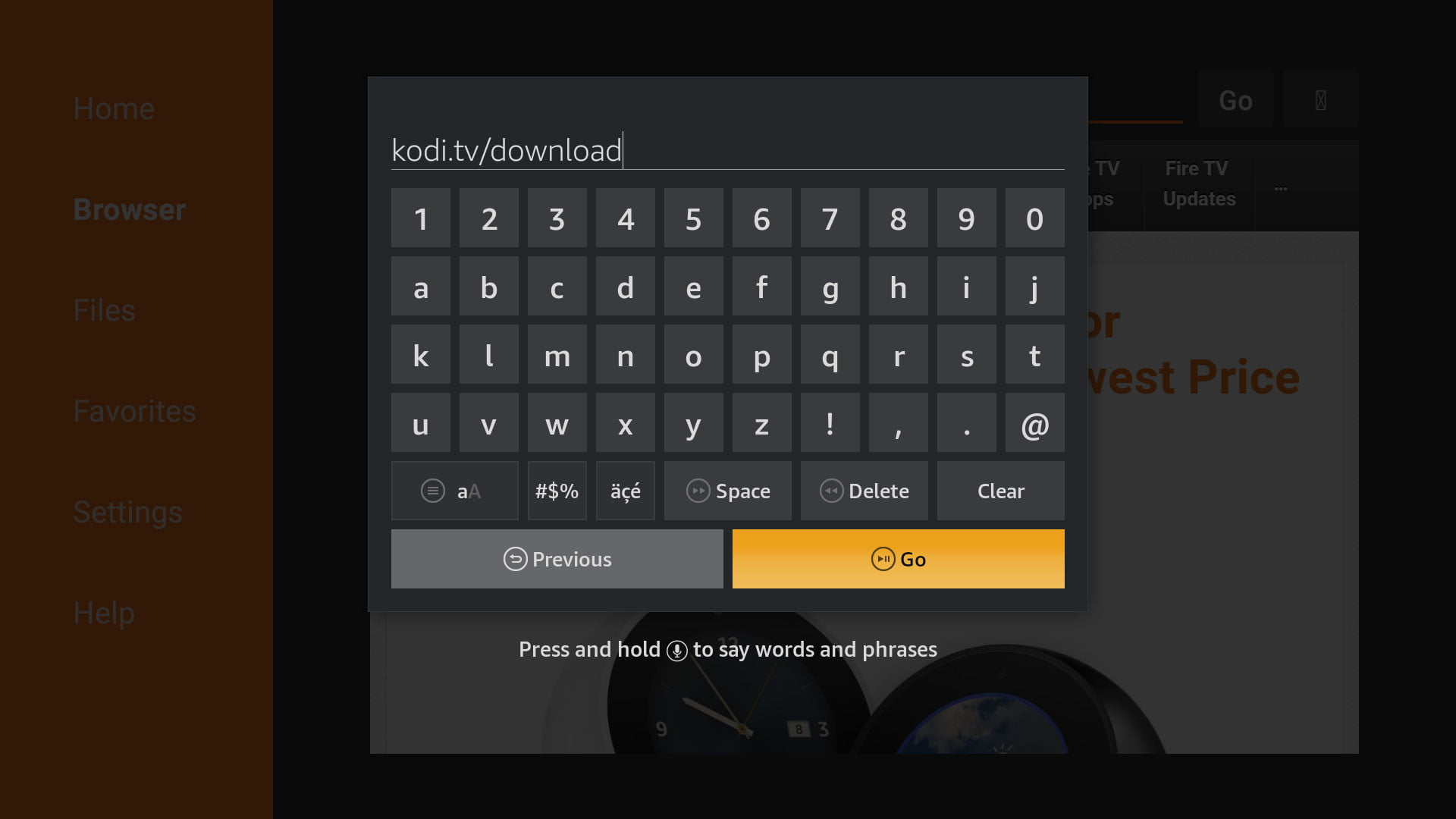 how to install kodi on an amazon fire tv download
