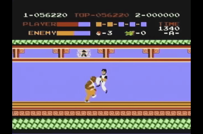 best nes games ever kung fu screen 1