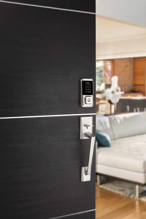 kwikset 3 new locks ces 2019 halo wi fi enabled touchscreen smart lock on door with camino handle  1