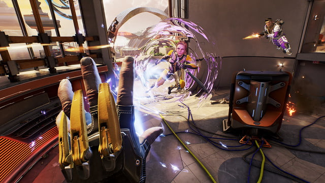LawBreakers Review Casting an ability at another player