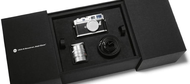 leica limited edition m monochrom signed by ralph gibson 1