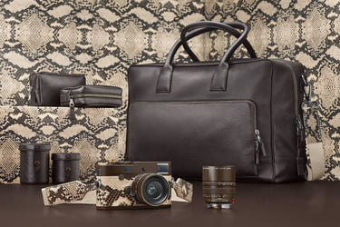 Leica Launches a Lenny Kravitz Snakeskin M Monochrom Special
