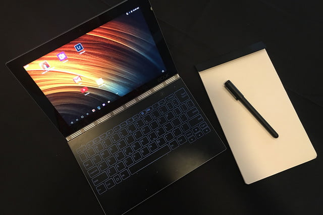 lenovo yoga book hands on handson 05