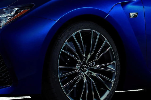 2015 lexus rc f is revealed ahead of the 2014 detroit auto show teaser