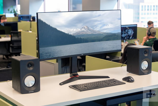 LG 34UC89G review front angle