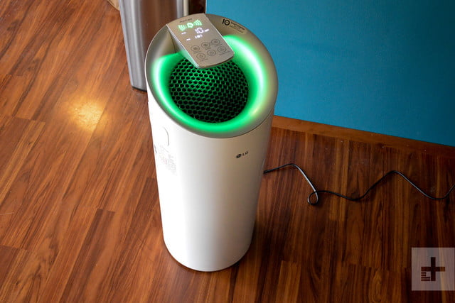 LG Puricare air purifier review green full
