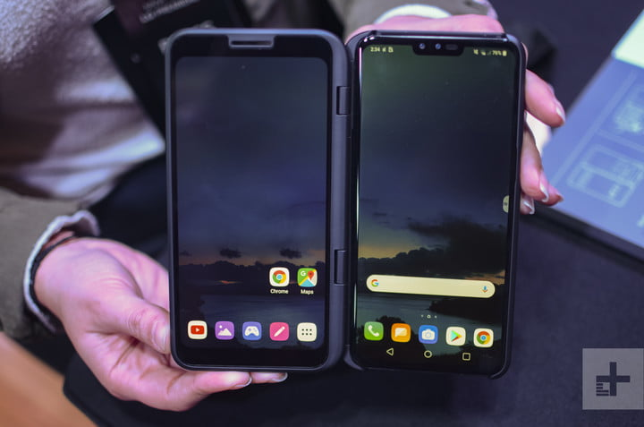 LG V50 ThinQ 5G – Hands On at MWC 2019