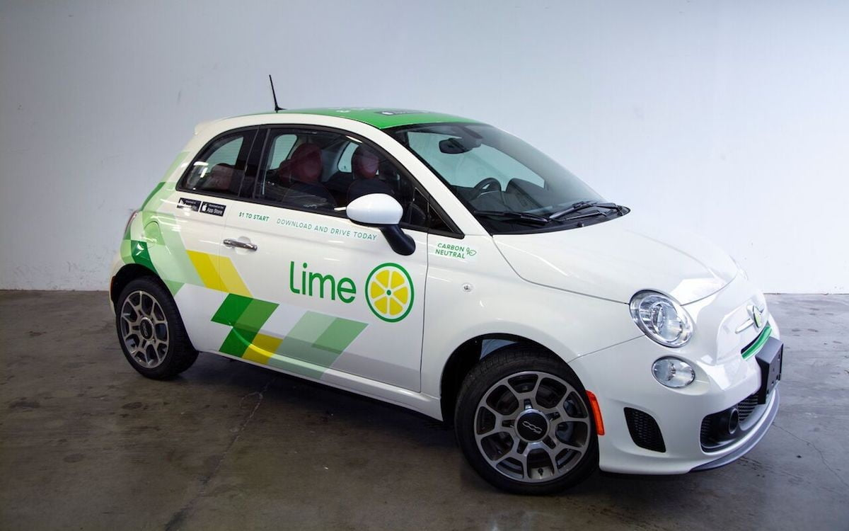 Lime's First Carsharing Service Motors Into Seattle This ...