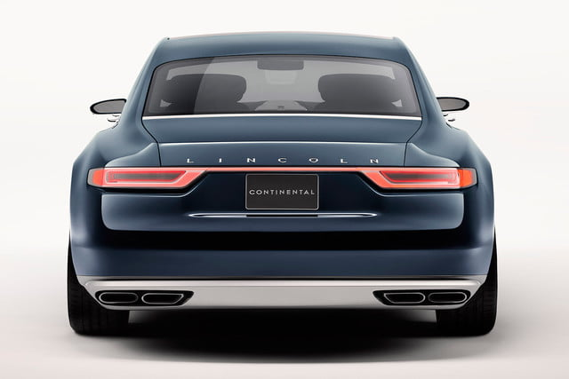 top 5 concept cars of 2015 opinion pictures specs lincolncontinentalconcept 06 rear
