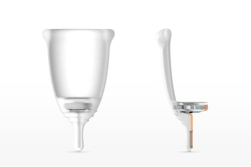 looncup smart menstrual cup product bisect