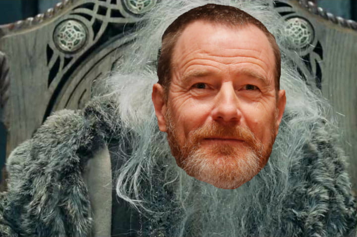 amazon lord of the rings show dream casting lotr bryan cranston
