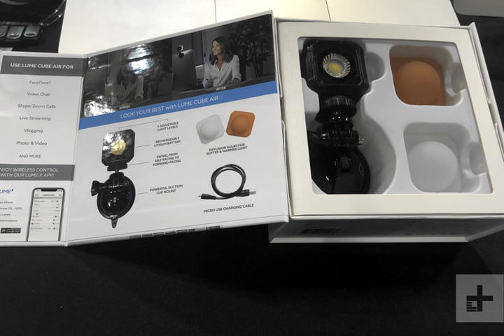 lume cube air vc lighting kit ces unveiled 2