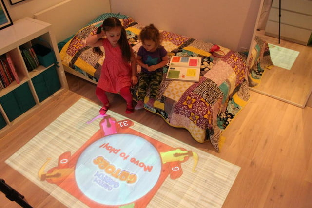interactive game projector for kids lumo hippos