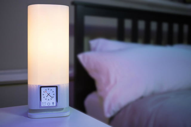 luzi smart lamp is a voice activated wireless charger 1