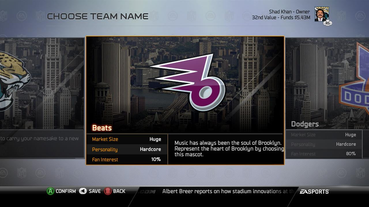 how to start a new connected franchise in madden 15