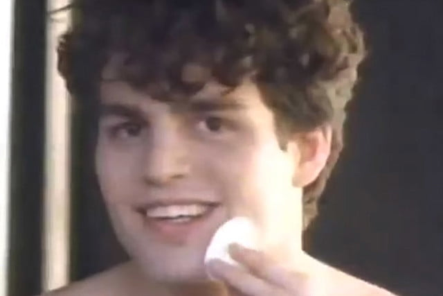 10 oscar actors videos before they were famous mark ruffalo  best supporting actor nominee for spotlight in a 1989 clearasil