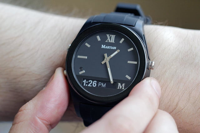 Martian Notifier Watch review full color 2
